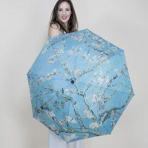 New Almond Tree Museum Art Reversible Umbrella